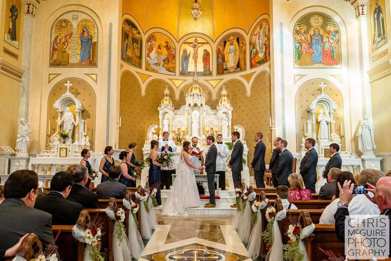 Sacred Heart Peoria IL Wedding