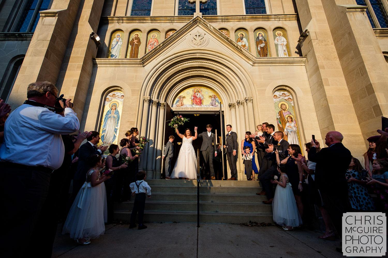 Peoria Sacred Heart Wedding Photography