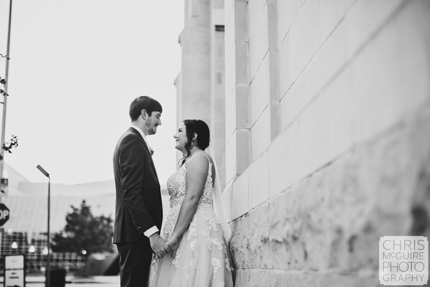 Couple in Downtown Peoria IL