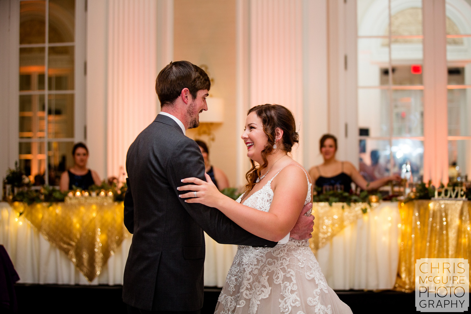 First Dance at Peoria Pere Marquette Wedding