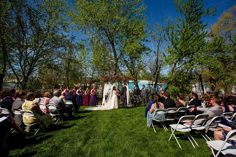 Trailside Outdoor Wedding