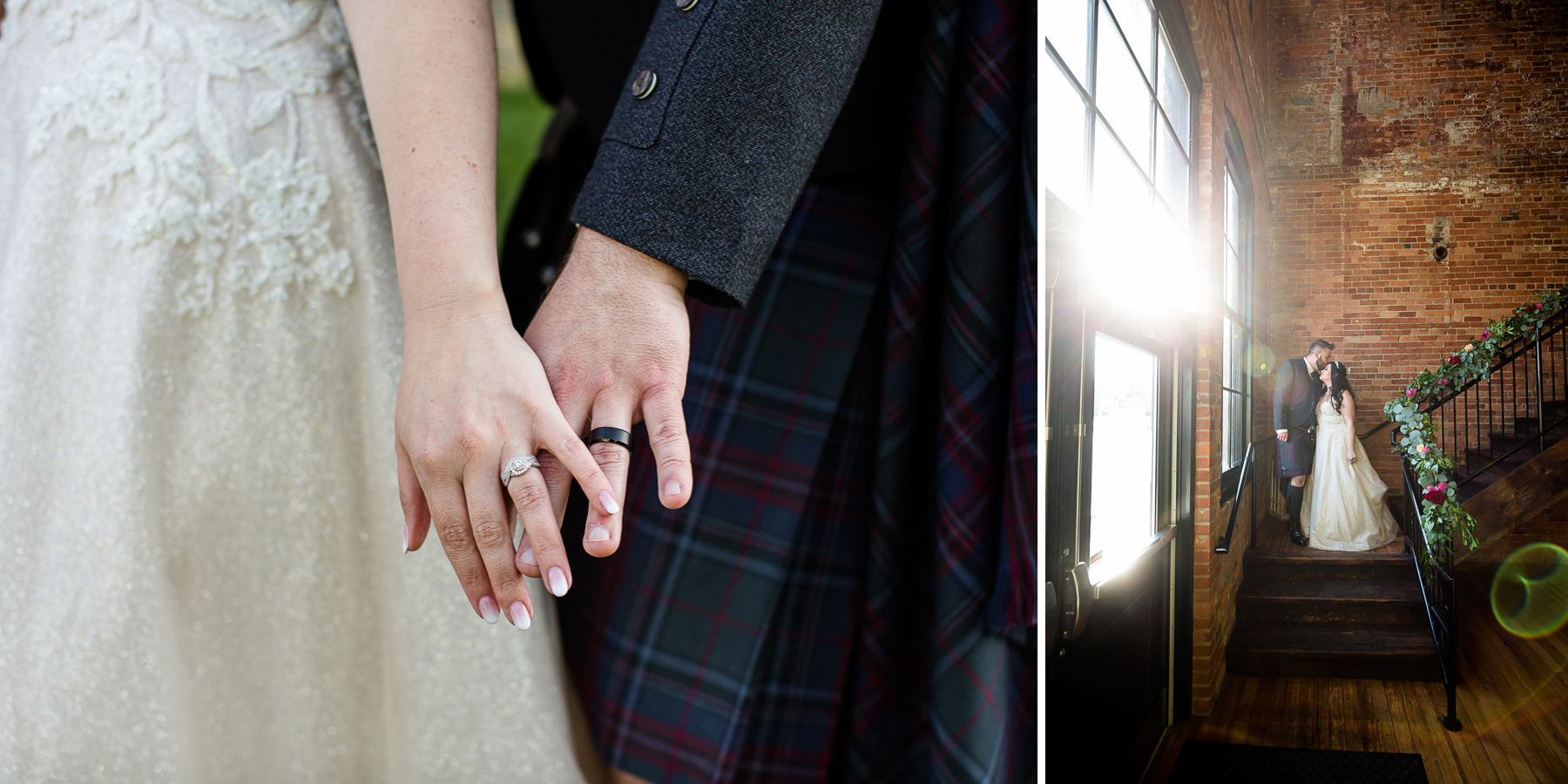 Trailside Event Center Wedding Portrait