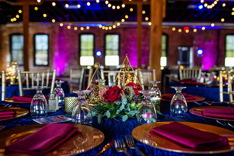 Trailside Event Center Wedding Reception