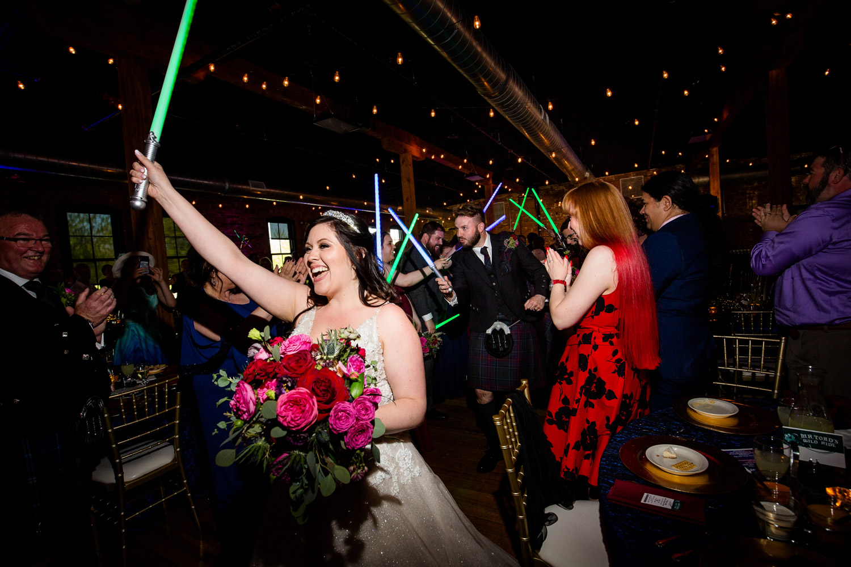 Star Wars Theme Wedding at Trailside Event Center