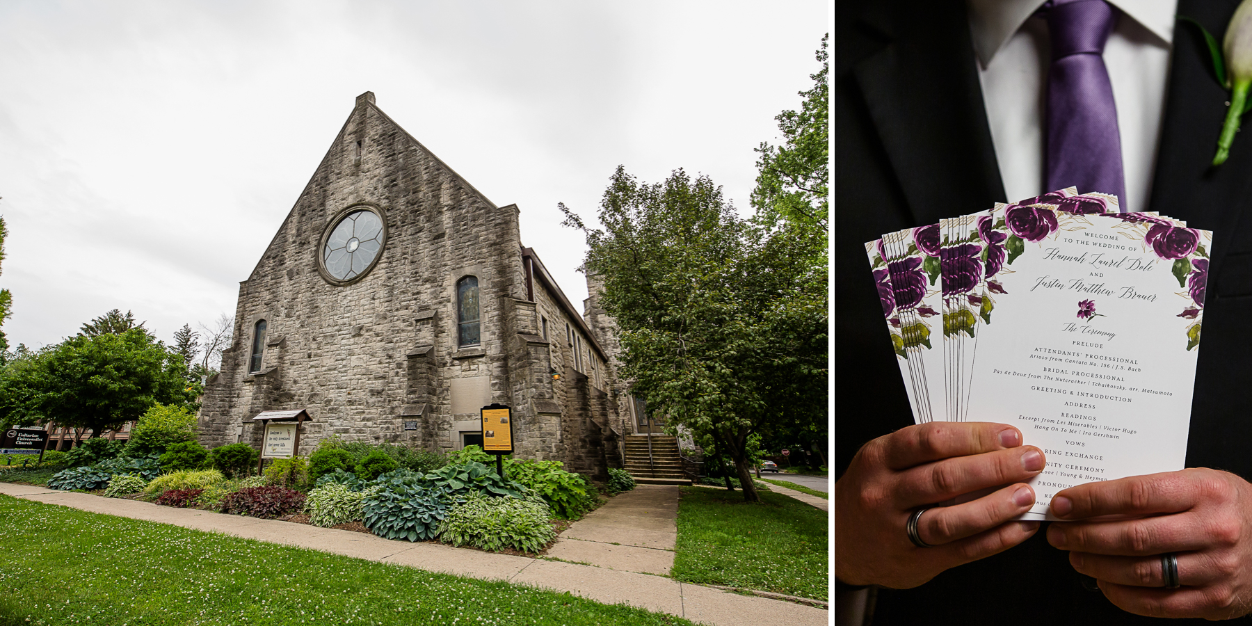 Universalist Unitarian Church in Urbana Wedding