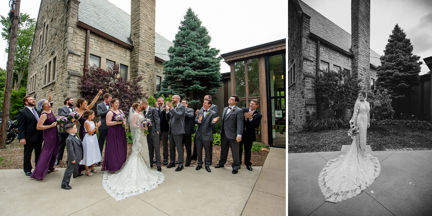 Champaign Wedding Portraits