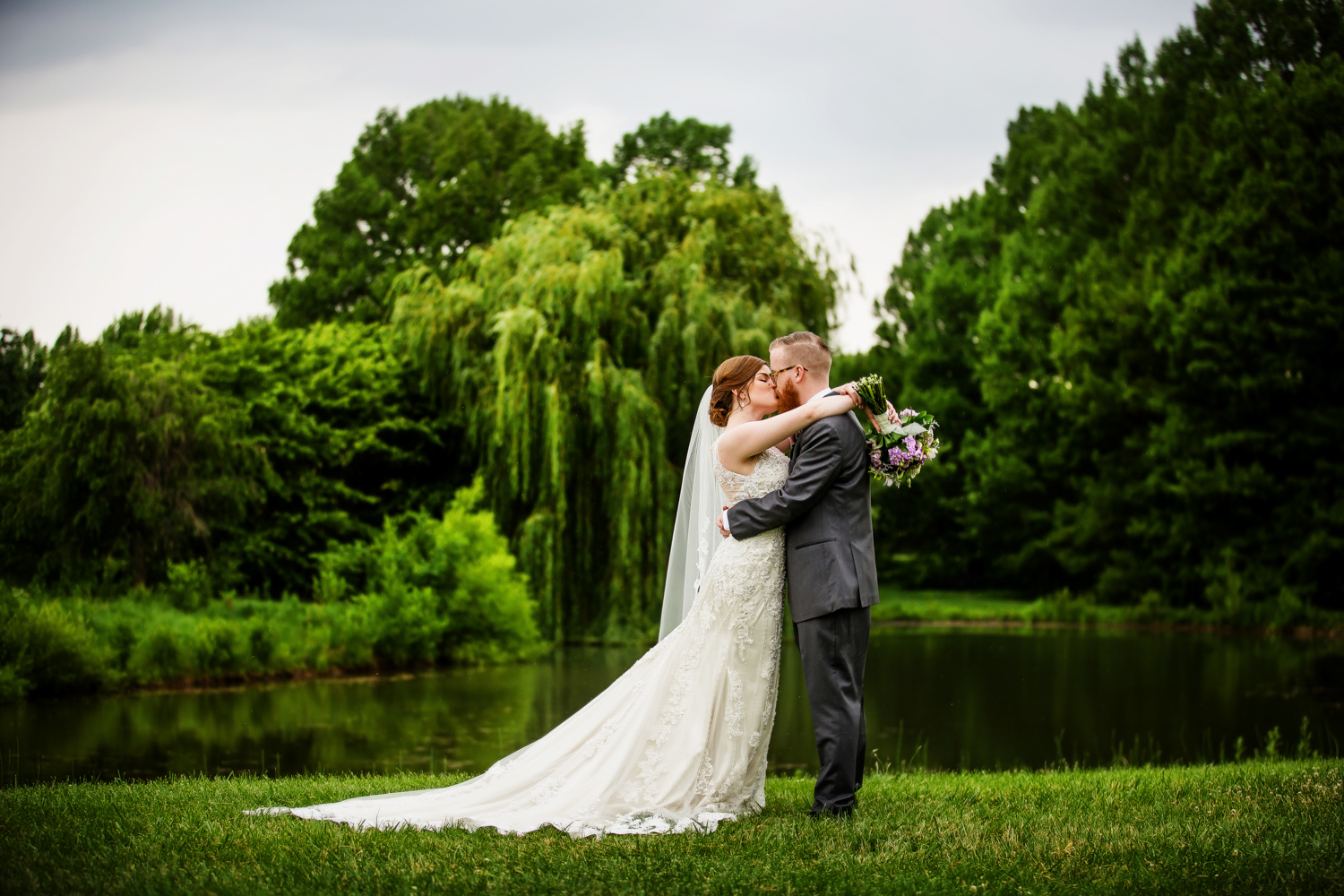 University of Illinois Arboretum Wedding