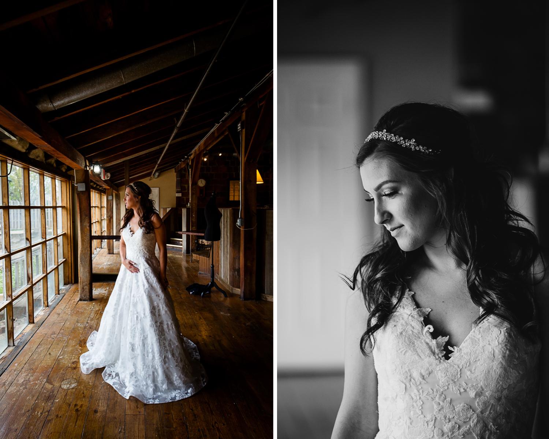 Bride at Second Chance Church Wedding