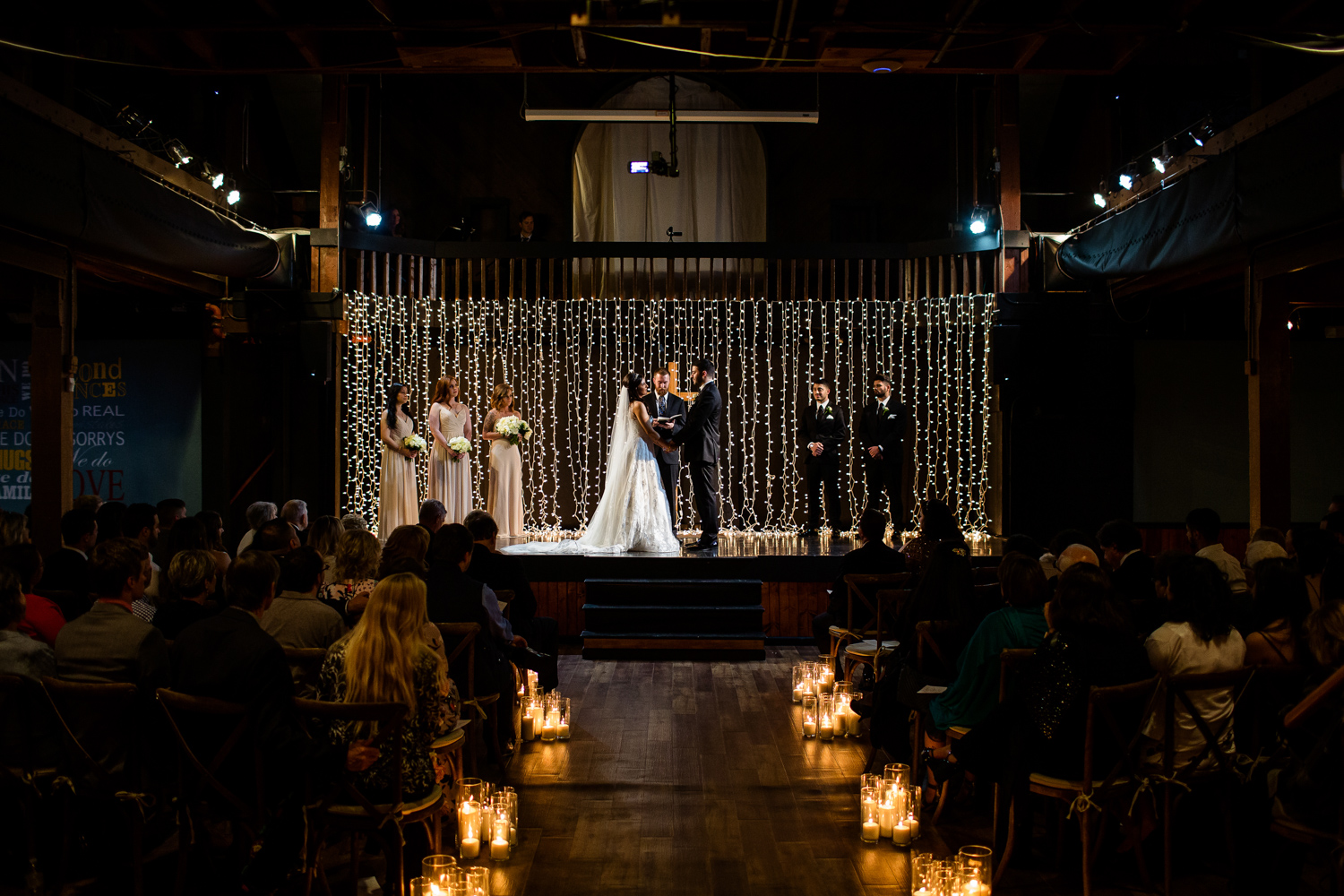 Wedding Ceremony at Second Chance Church in Peoria IL