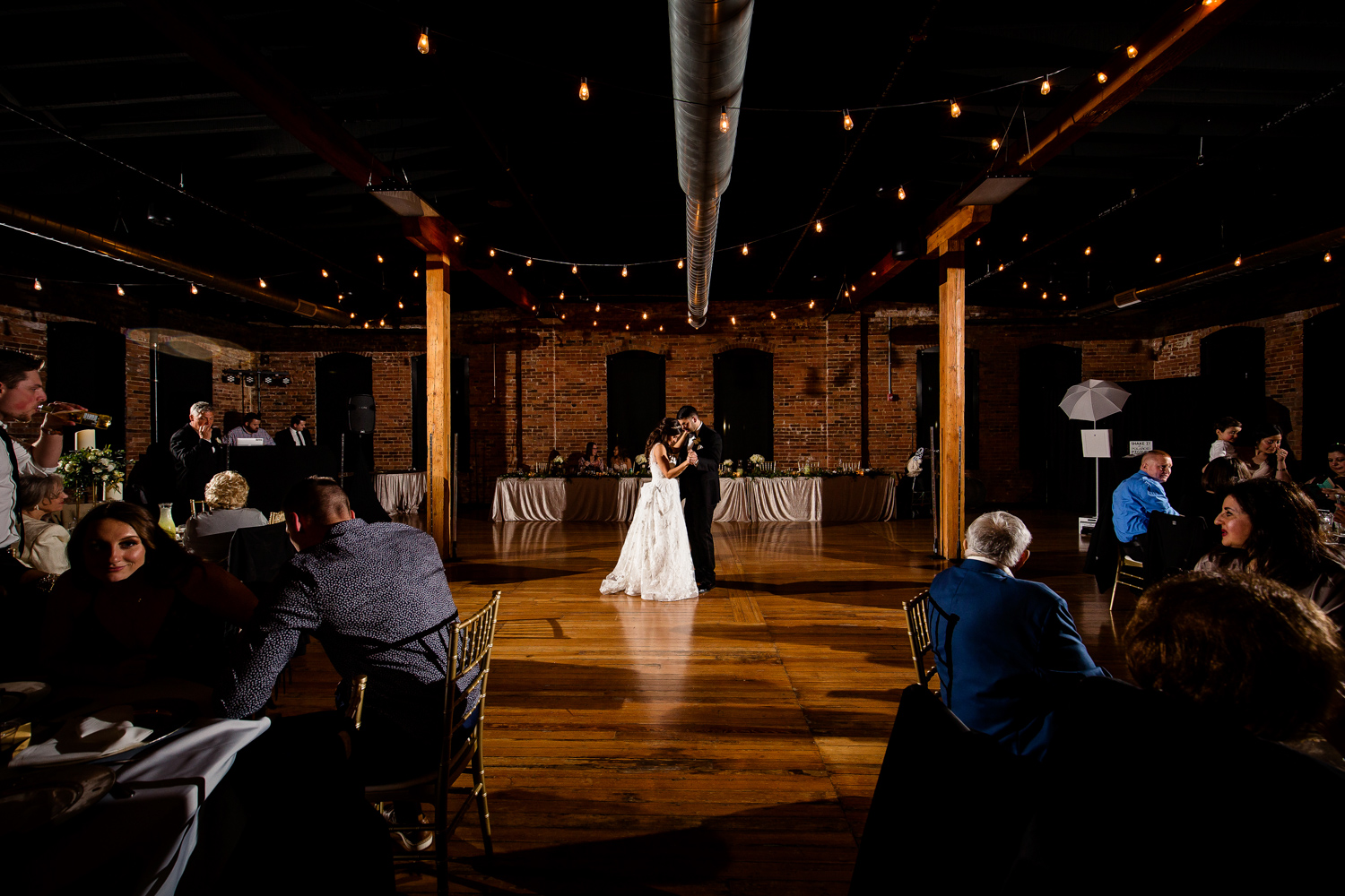 First dance at Trailside Event Center in Peoria Illinois