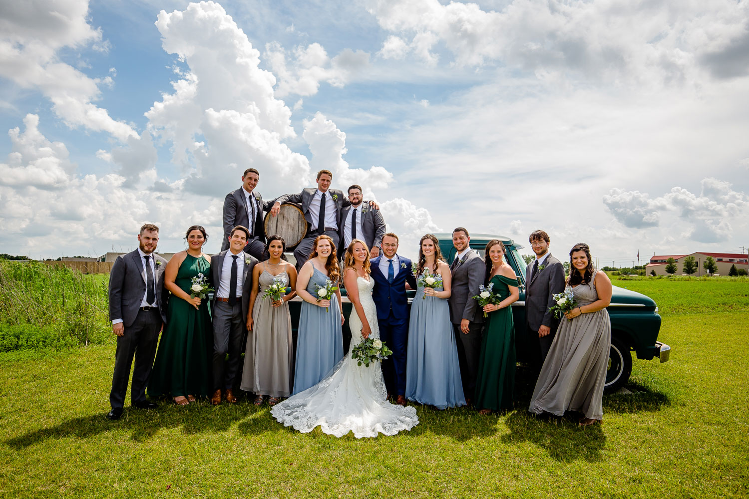 Destihl Brewery Wedding Party