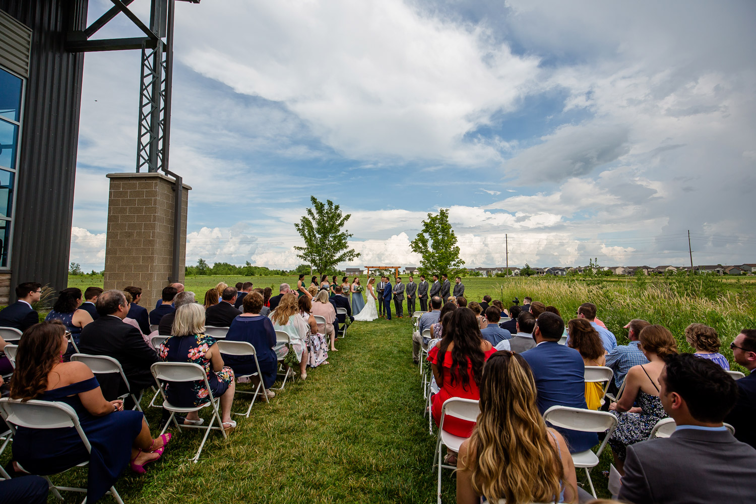 Destihl Brewery Wedding Ceremony