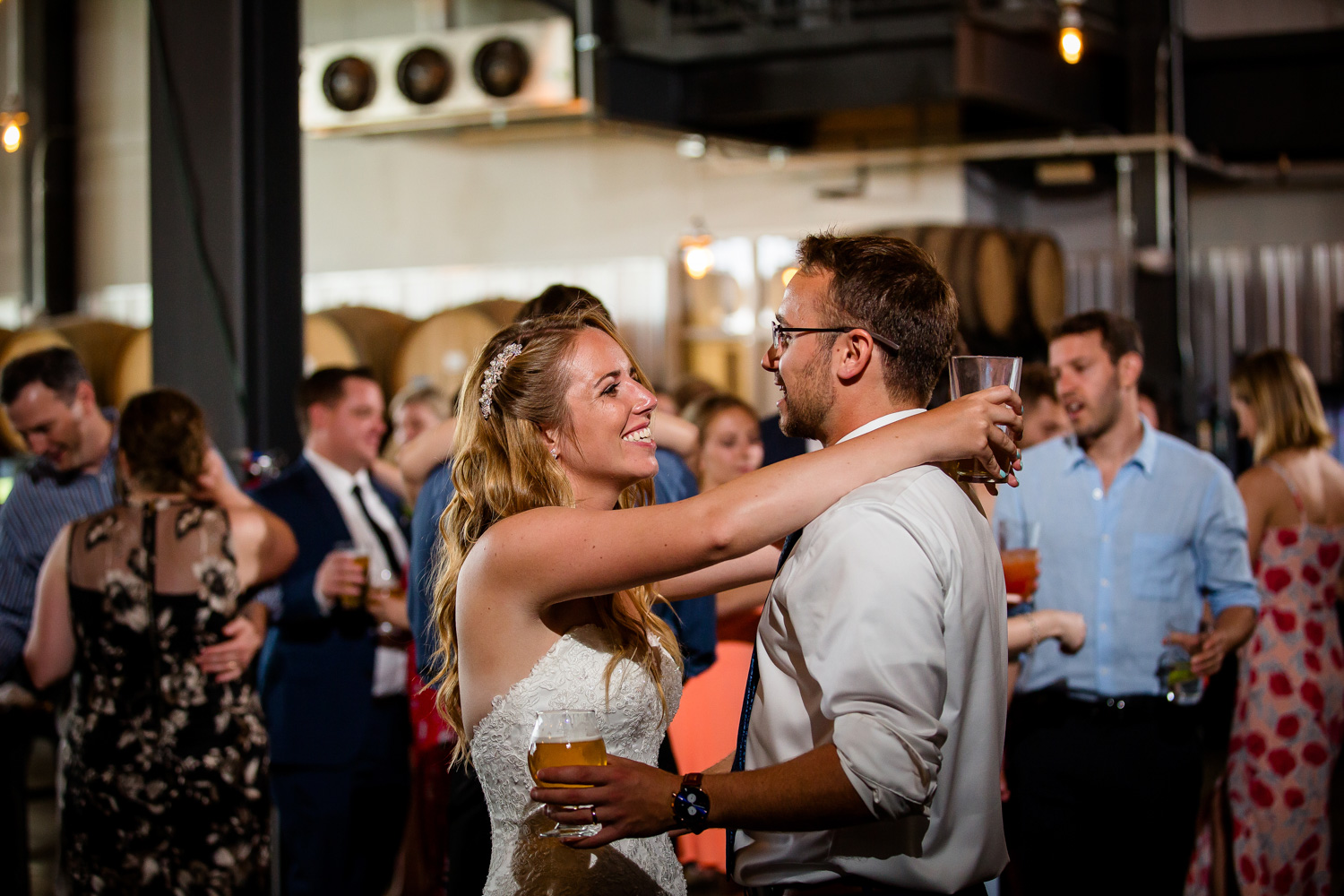 Destihl Brewery Wedding Dancing