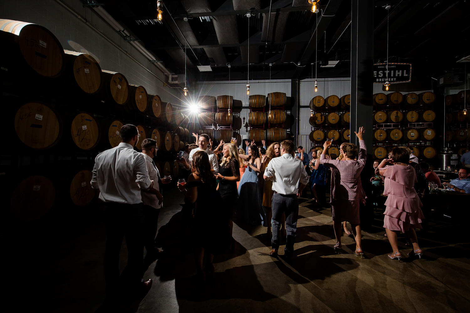 Destihl Brewery Wedding Dancefloor