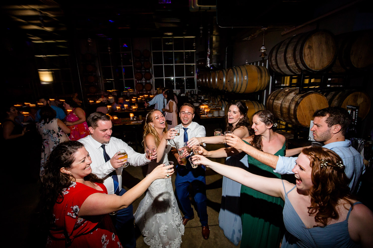 Destihl Brewery Wedding