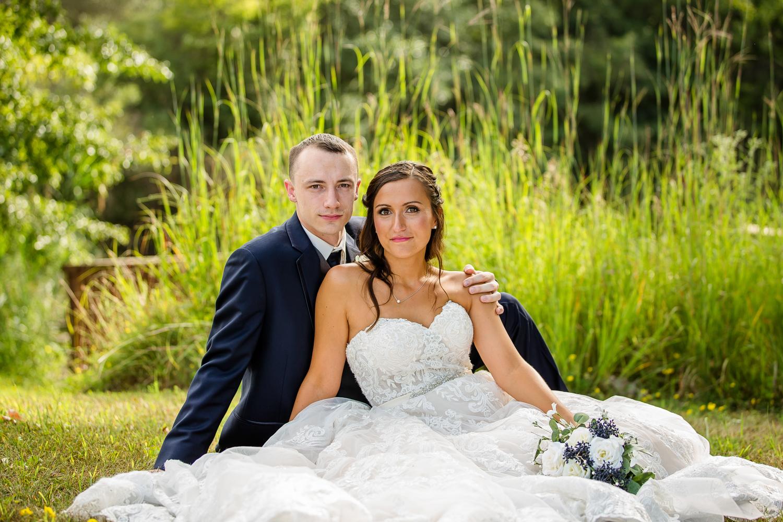 Wildlife Prairie Park Wedding Portrait