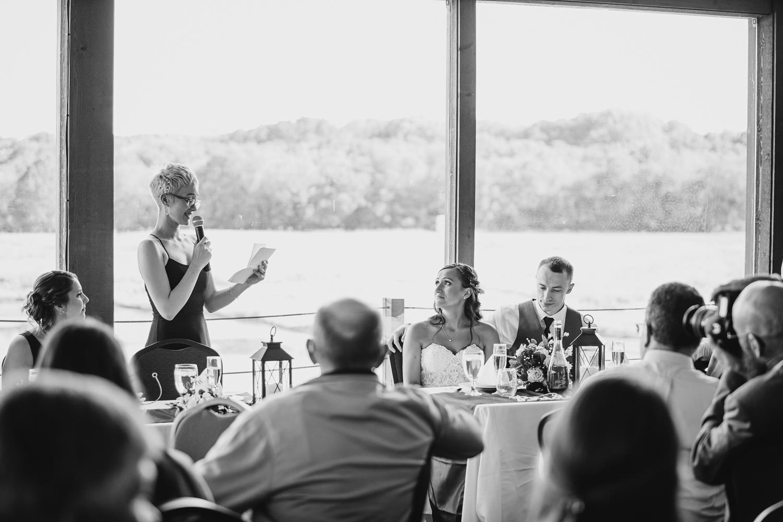 Hespell Deck Wedding Reception