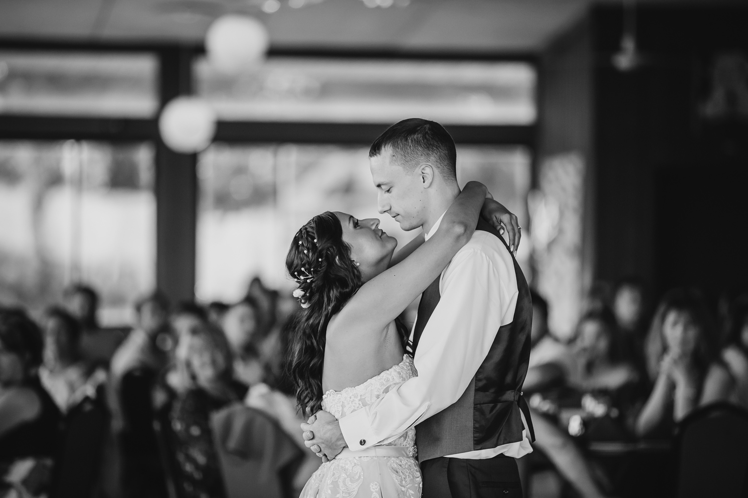 First Dance at Central Illinois Wedding