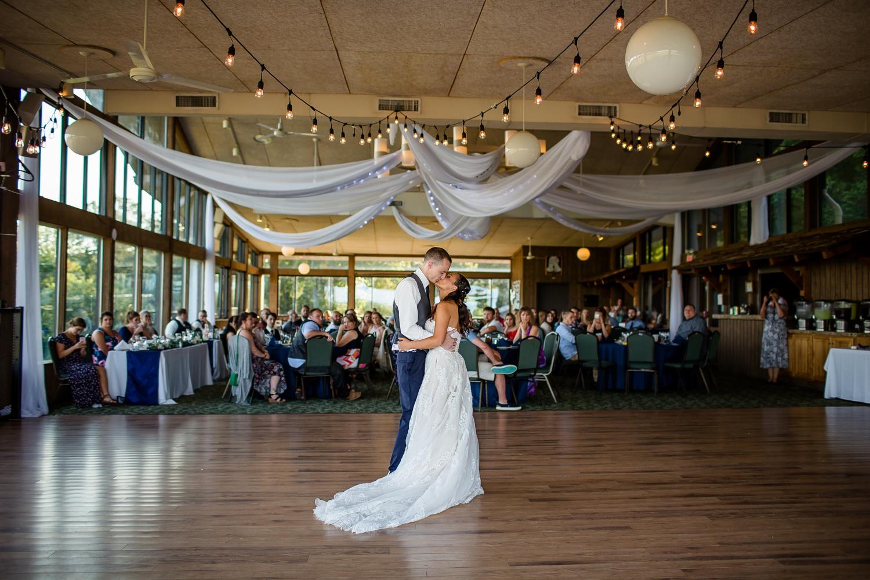 Wildlife Prairie Park Wedding Hespell Deck