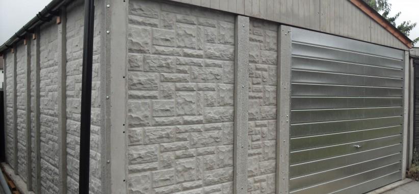 L M Sy Garages And Sheds Aat, Prefab Garage Panels Uk