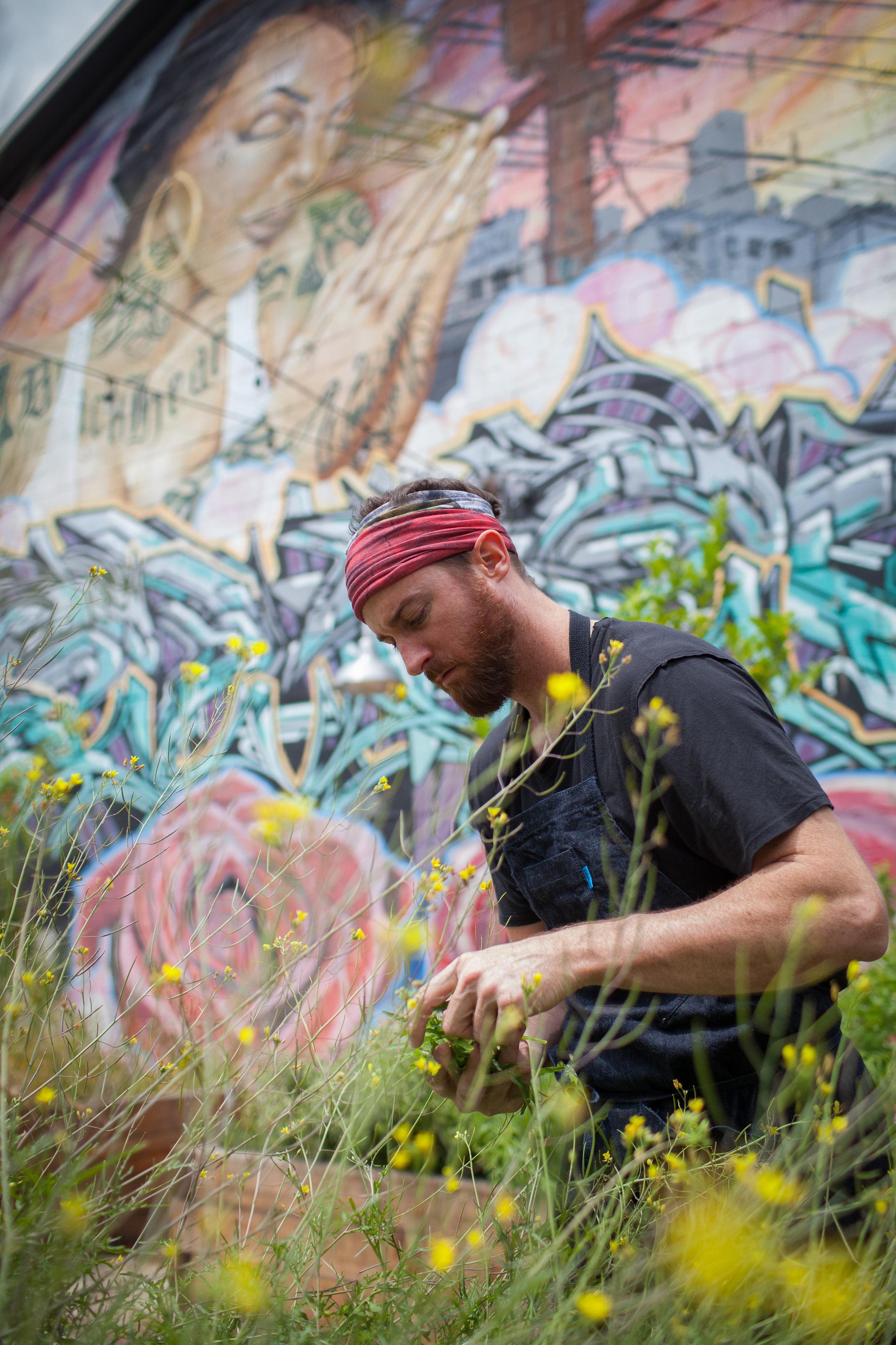 Chef Wes Whitsel for Malibu Magazine