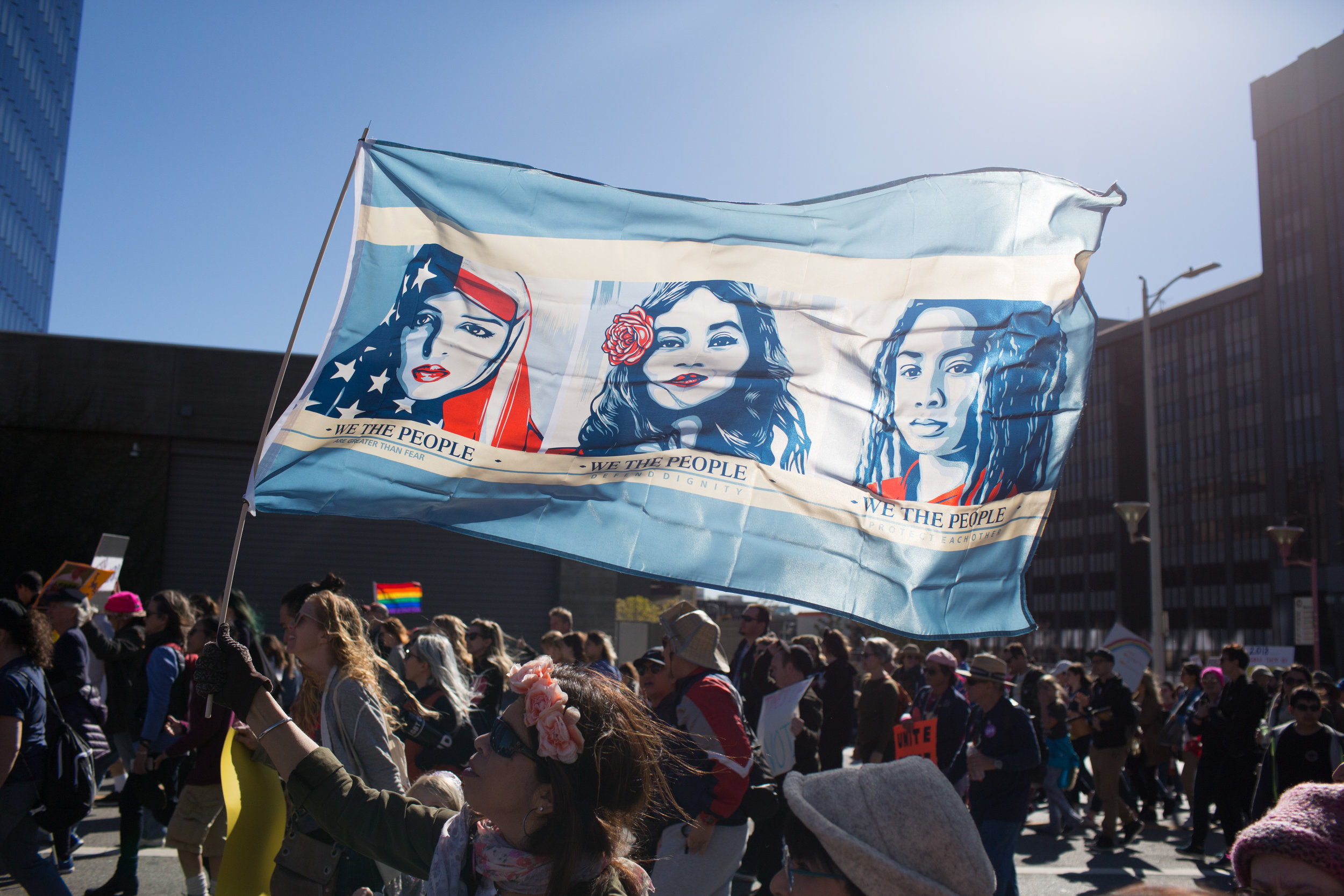 Los Angeles Women's March for Southern California Public Radio