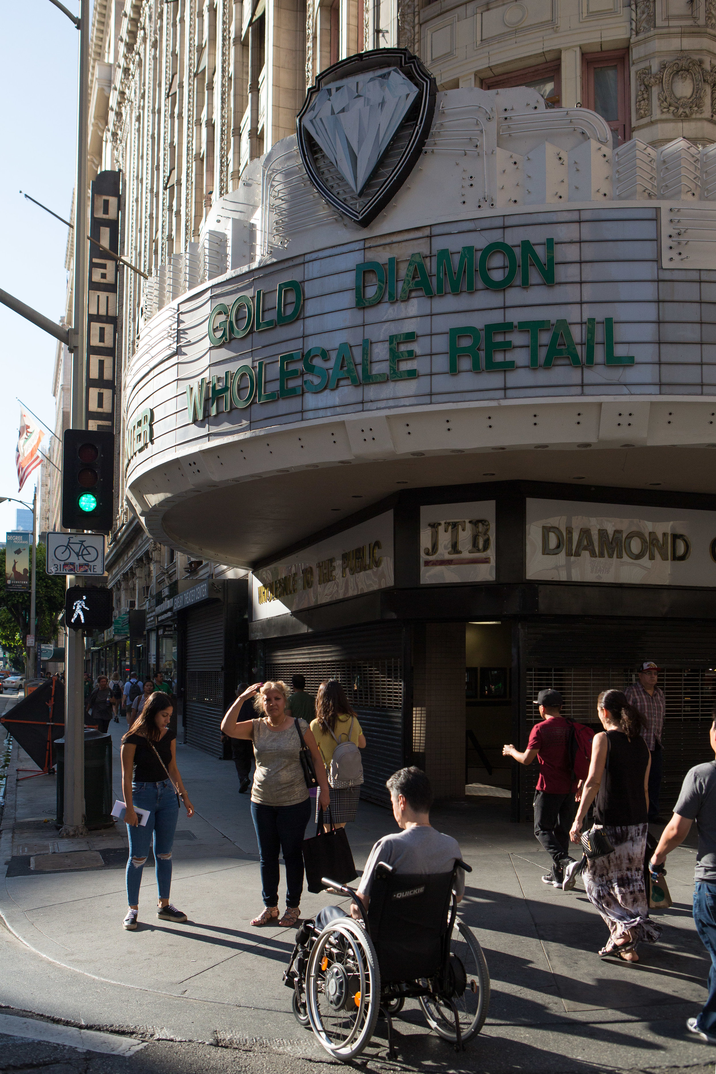 The Los Angeles Jewelry District for The Financial Times