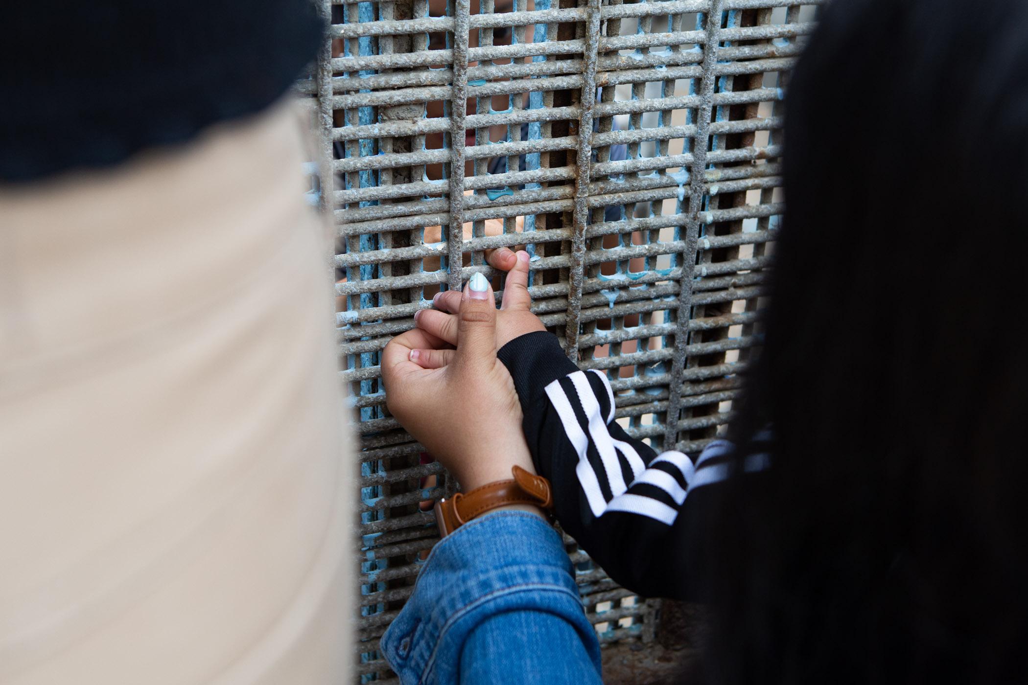 Tijuana Border Fence for NYT Student Journeys