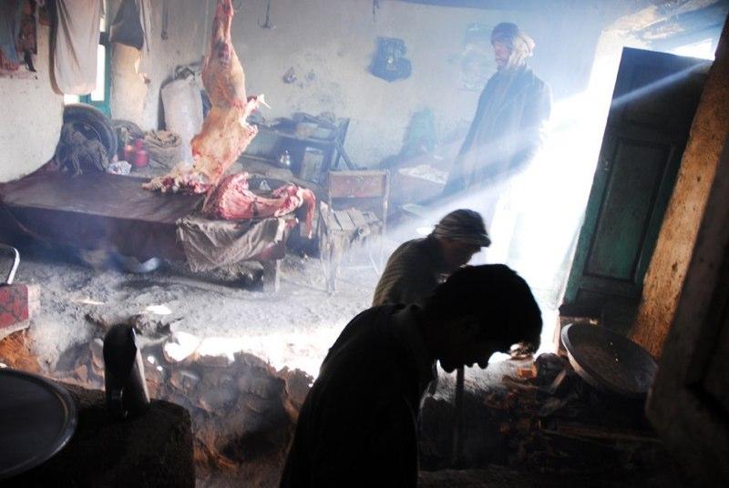 Restaurant in Bamiyan.
