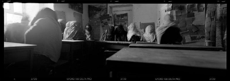 Girls school south of Kabul.
