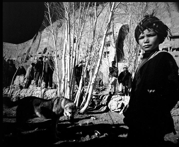 Sag Janji (dog fighting) at Bamiyan.