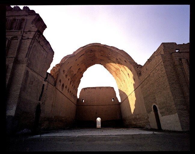 Archaeological site of Ctesiphon in Iraq, January, 2004.
