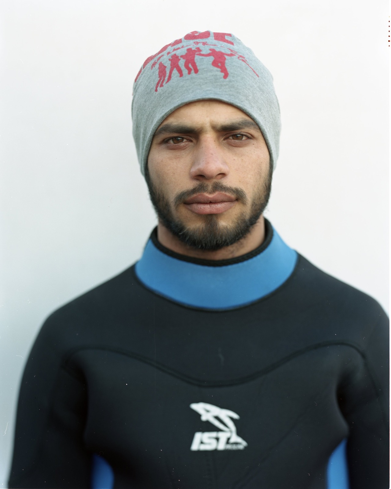 Rafat al-Hamoud from Damascus, Syria. Two years ago, Rafat traveled from Syria to Lebanon then Algeria to Tunisia to Libya, spending two and a half days on the sea, before arriving in Italy, then on to France, Holland, German, and finally Denmark. Members of his family drowned on October 29, 2015, while traveling by boat to Greece. He traveled to Lesbos to bury his cousin, and has been volunteering since then helping refugees and migrants who land on the shores and helping boats in distress on the water.