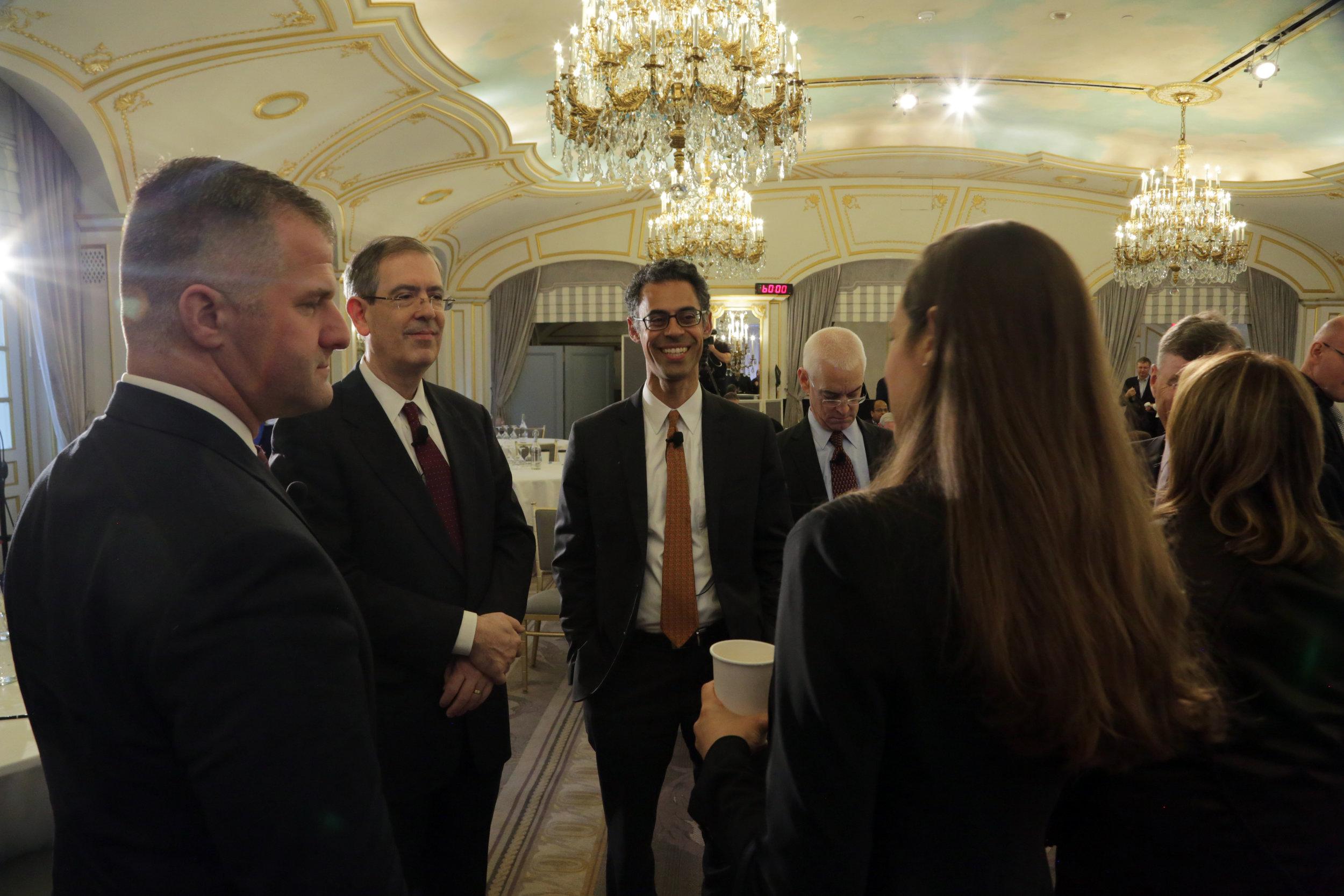 McKinsey event at the St. Regis Hotel, Spring 2018.