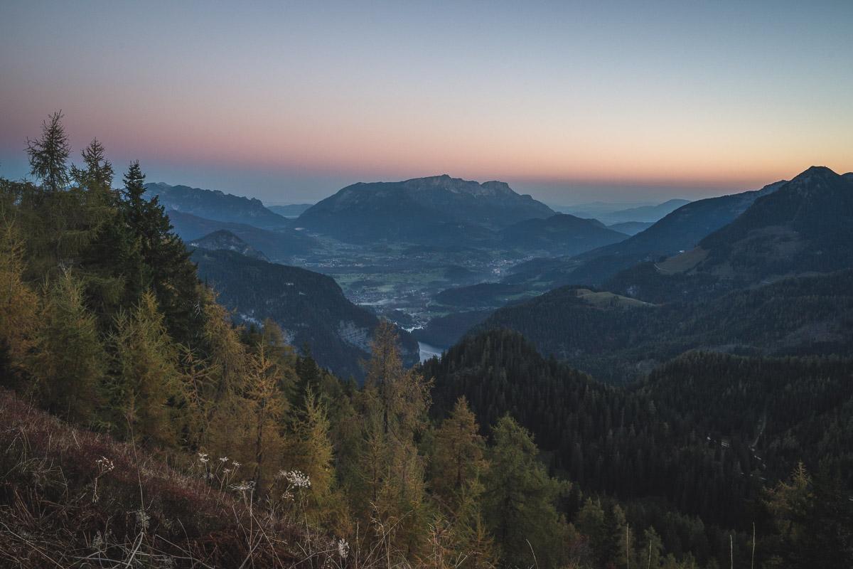 Untersberg in the distance