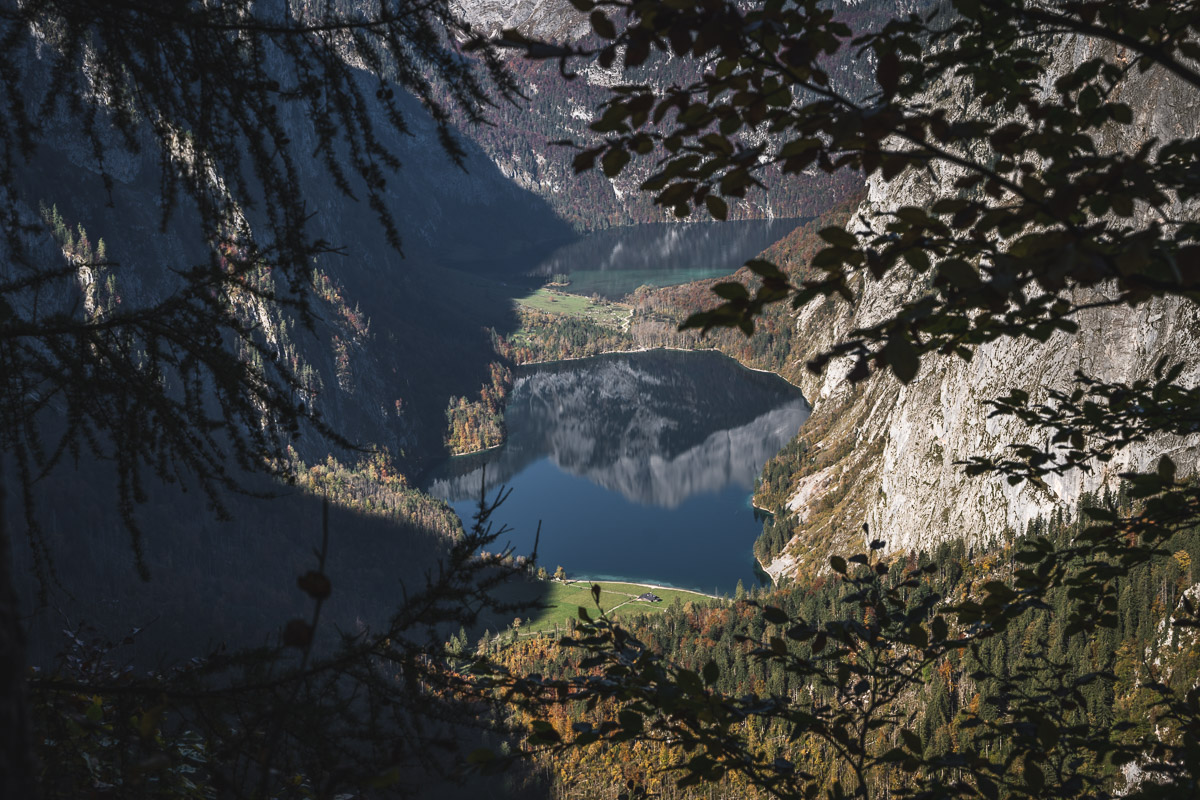 View of Lake Obersee