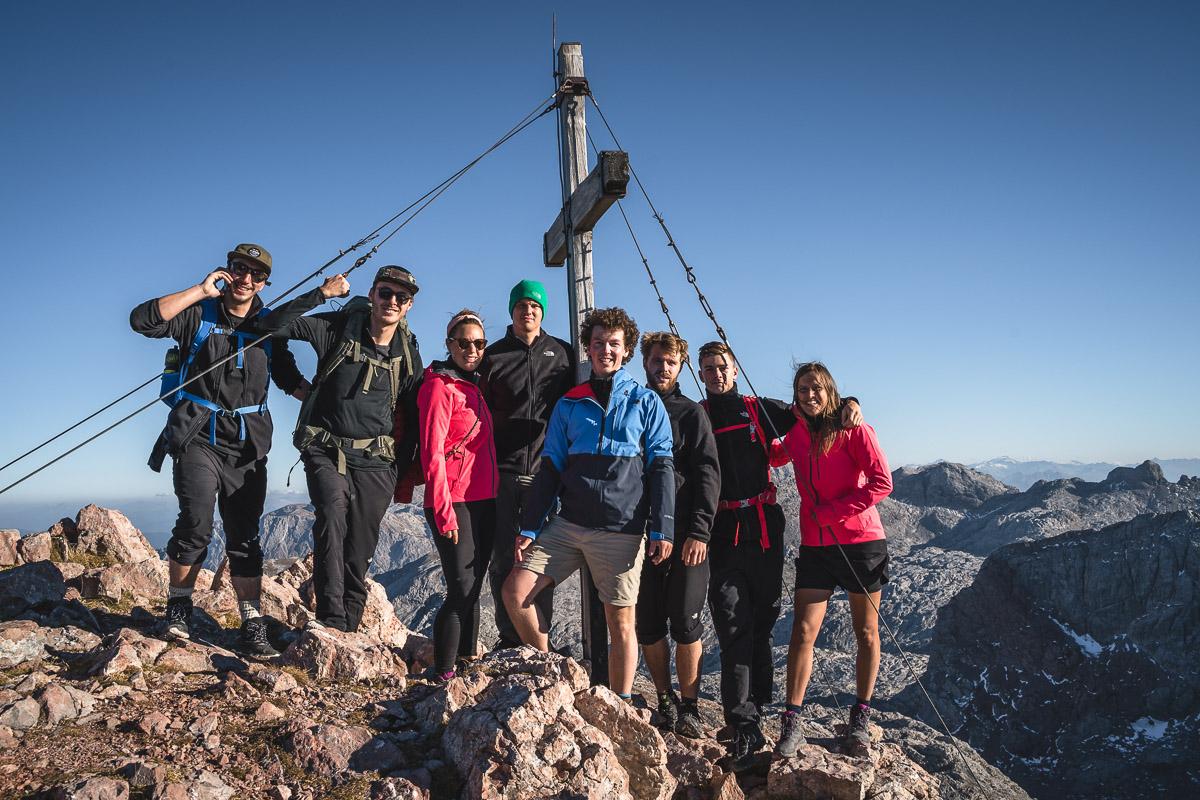 Summit photo on top of Funtenseetauern (2578m)