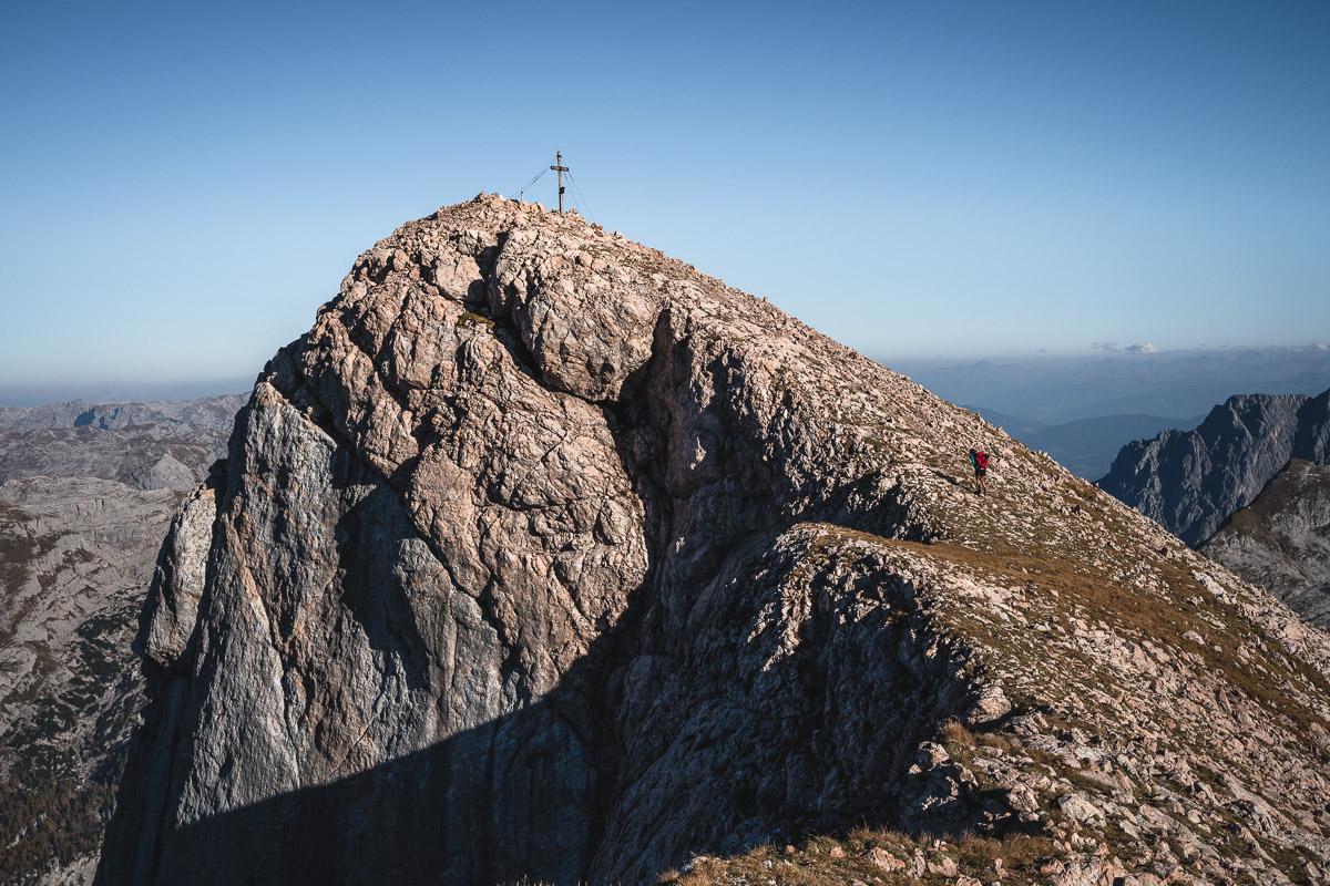 Summit of Funtenseetauern (2578m)