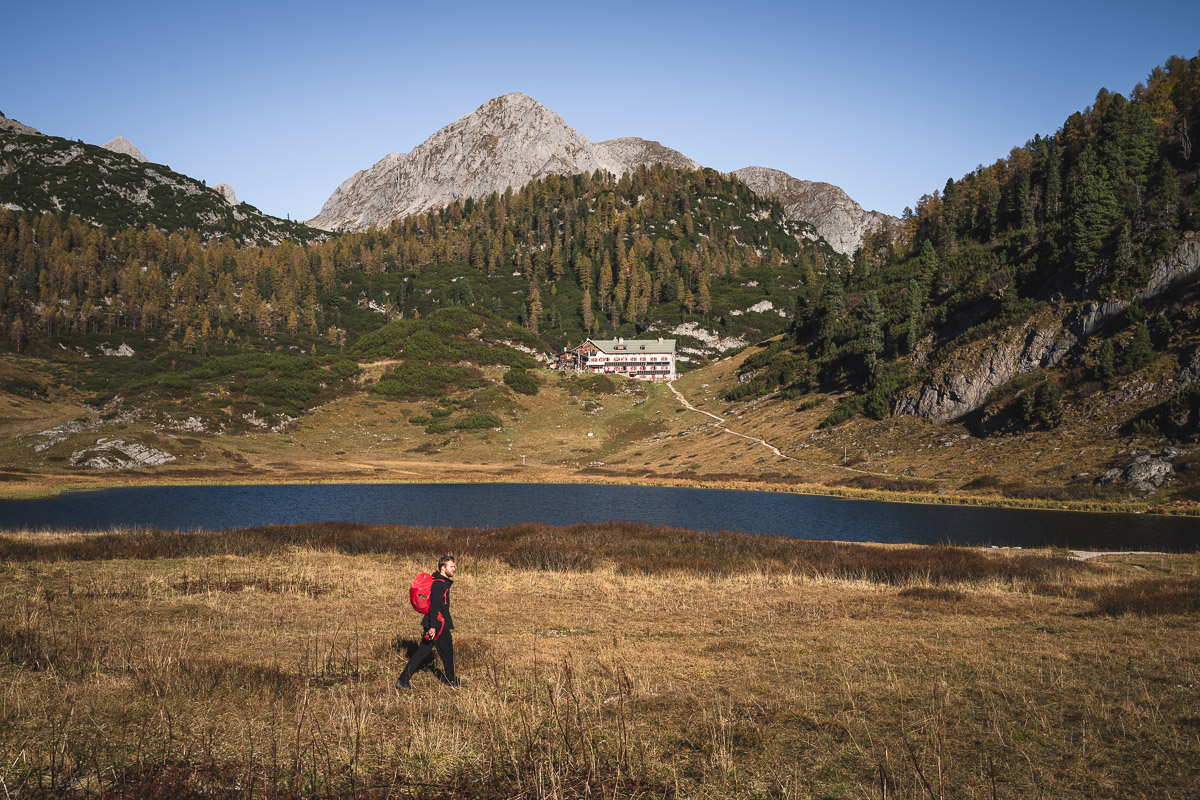 Lake Funtensee and Kärlingerhaus