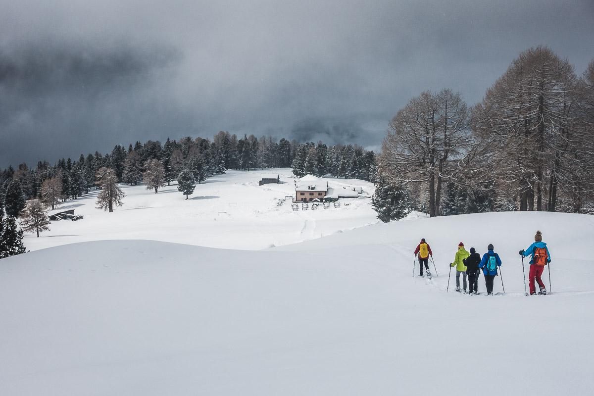 Schneeschuhwanderung am Weißhorn