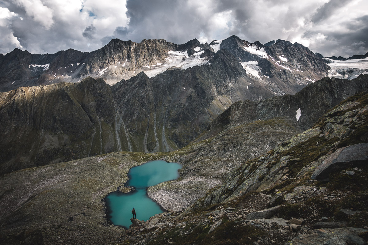 On the hike up to Rinnenspitze, Austria
