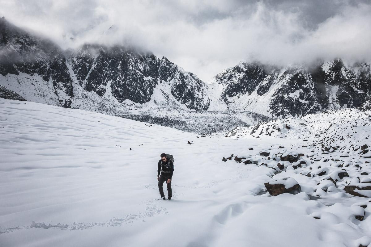 Ascent to Wilder Freiger (3418m), Austria
