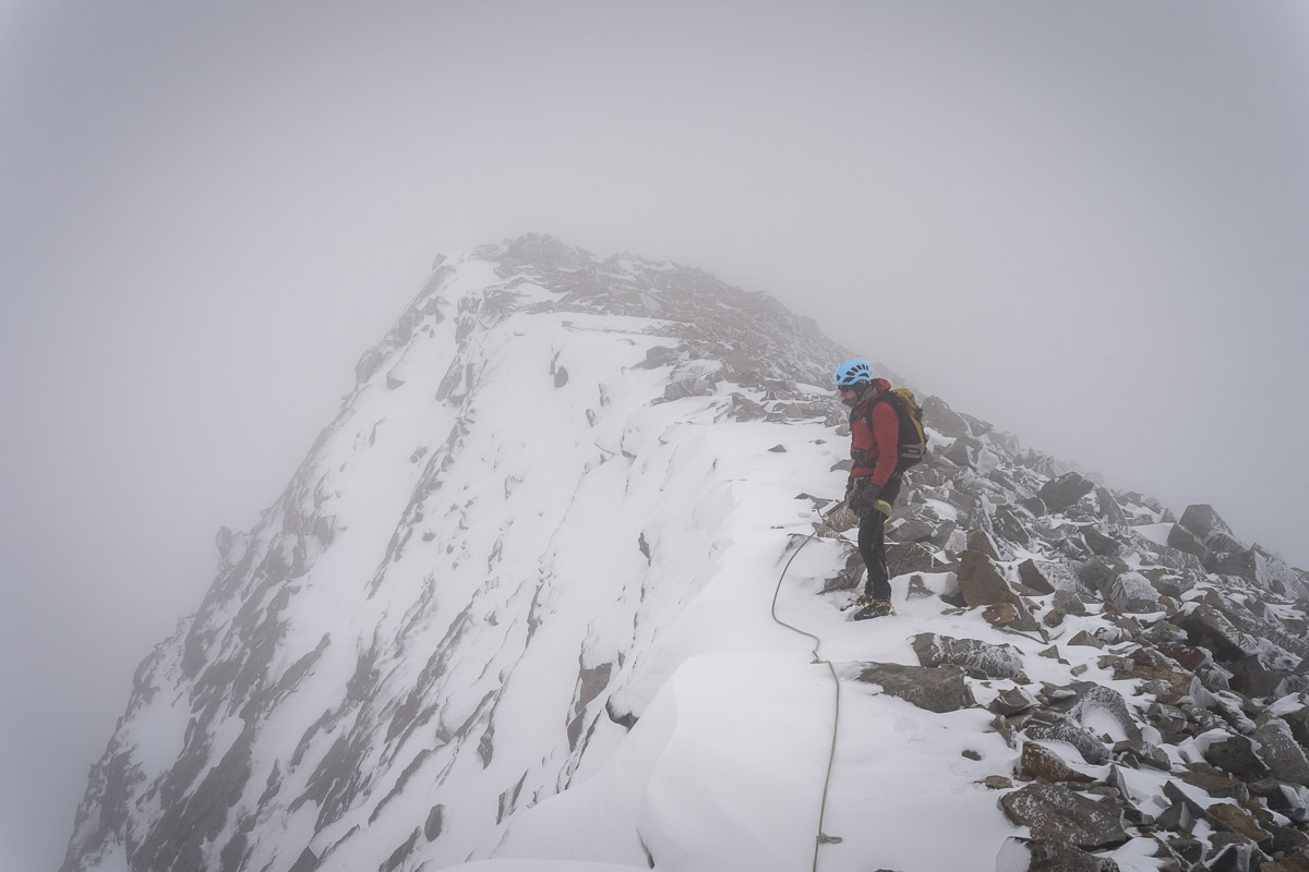 Rough conditions on the ascent of Großvenediger