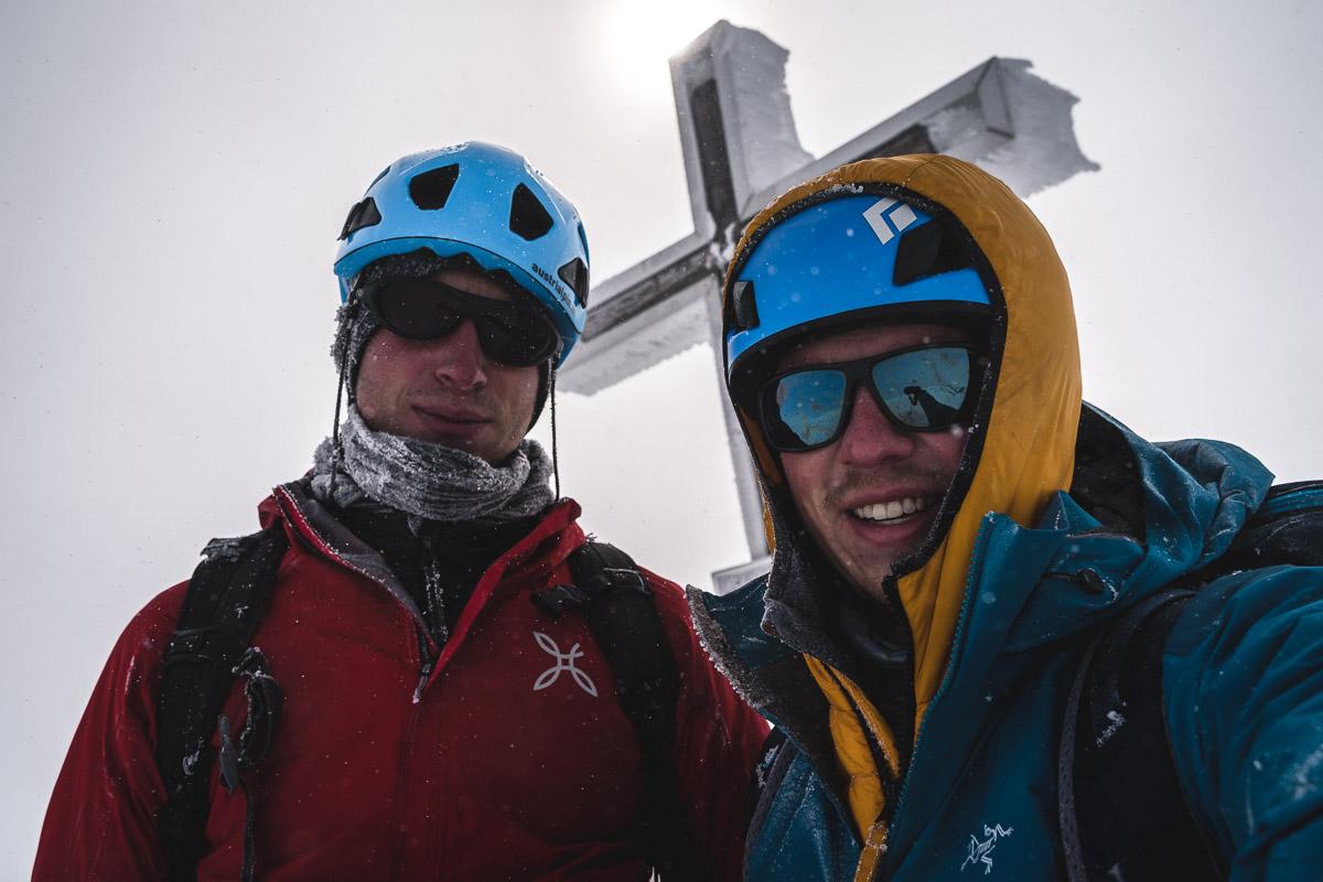 On the summit of Großvenediger (3666m)