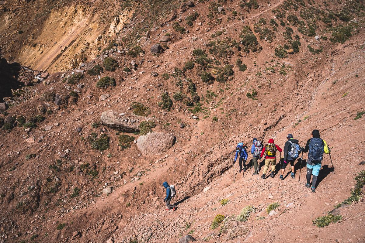 Gravel slopes
