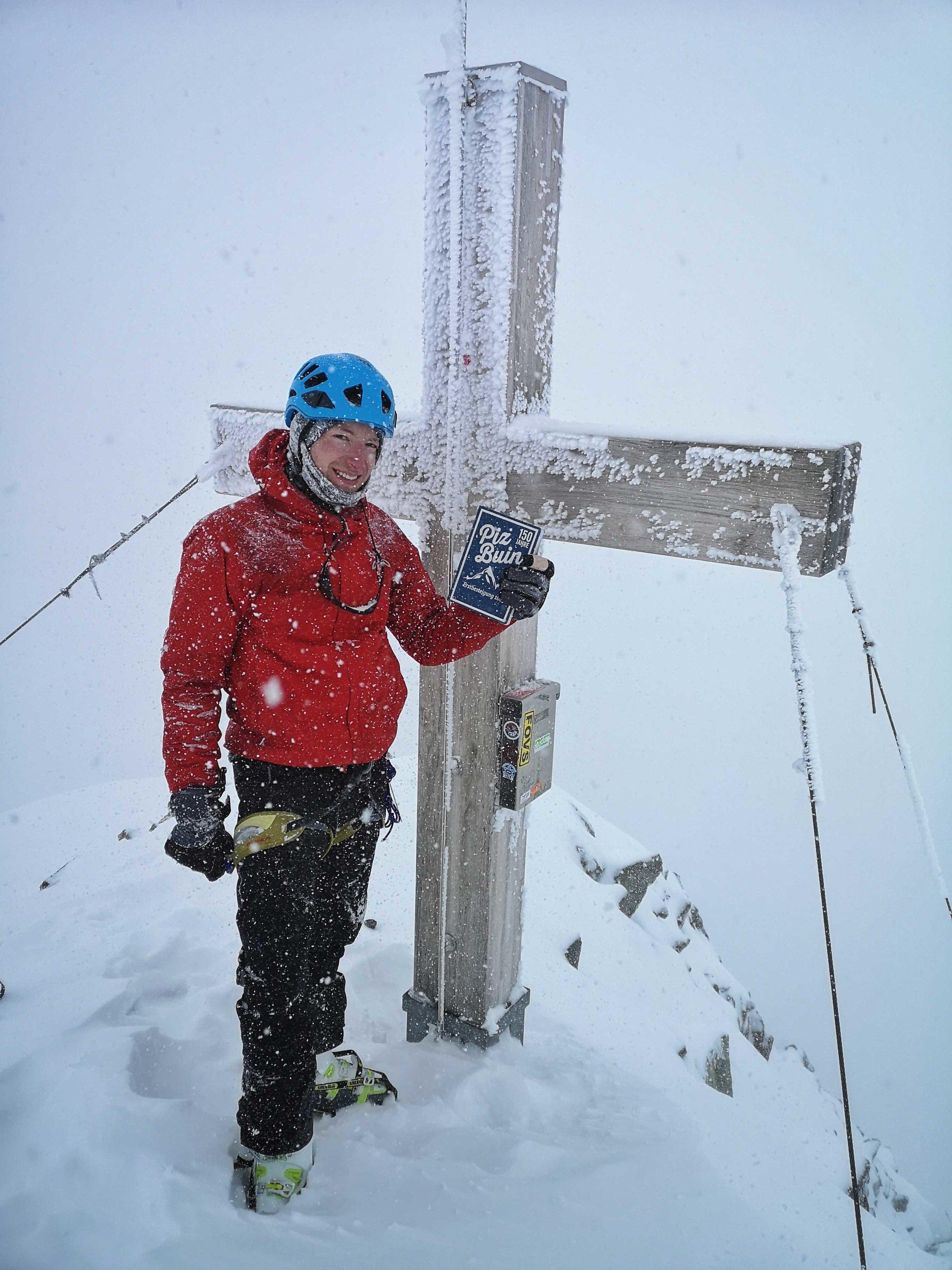 Piz Buin Gipfelkreuz