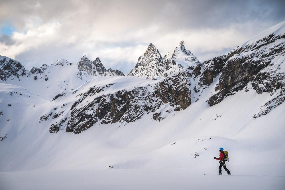 Beeindruckende Bergkulisse vom Silvrettagletscher