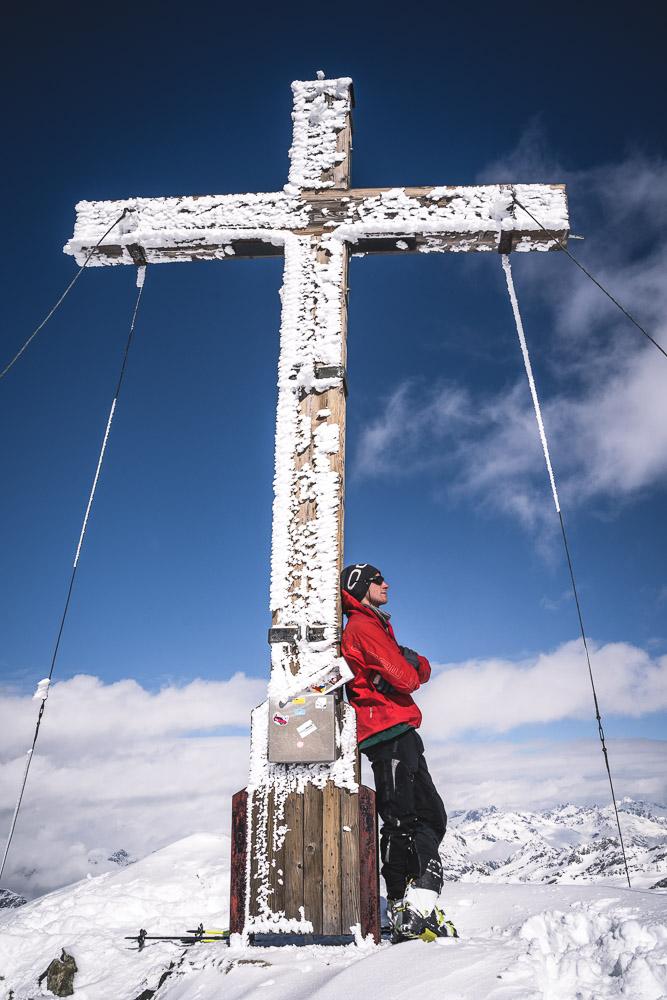 Silvrettahorn (3244m) Gipfelkreuz