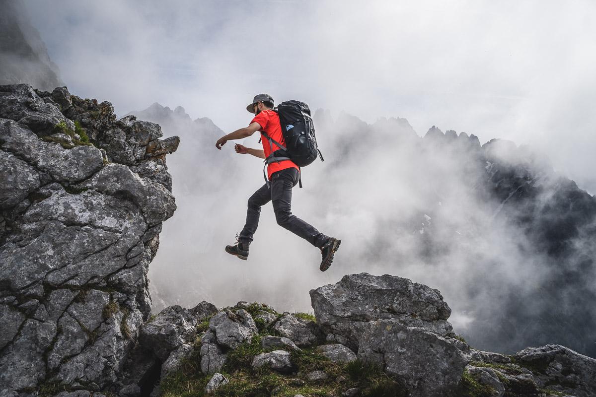 Bergsteigen im Wilden Kaiser