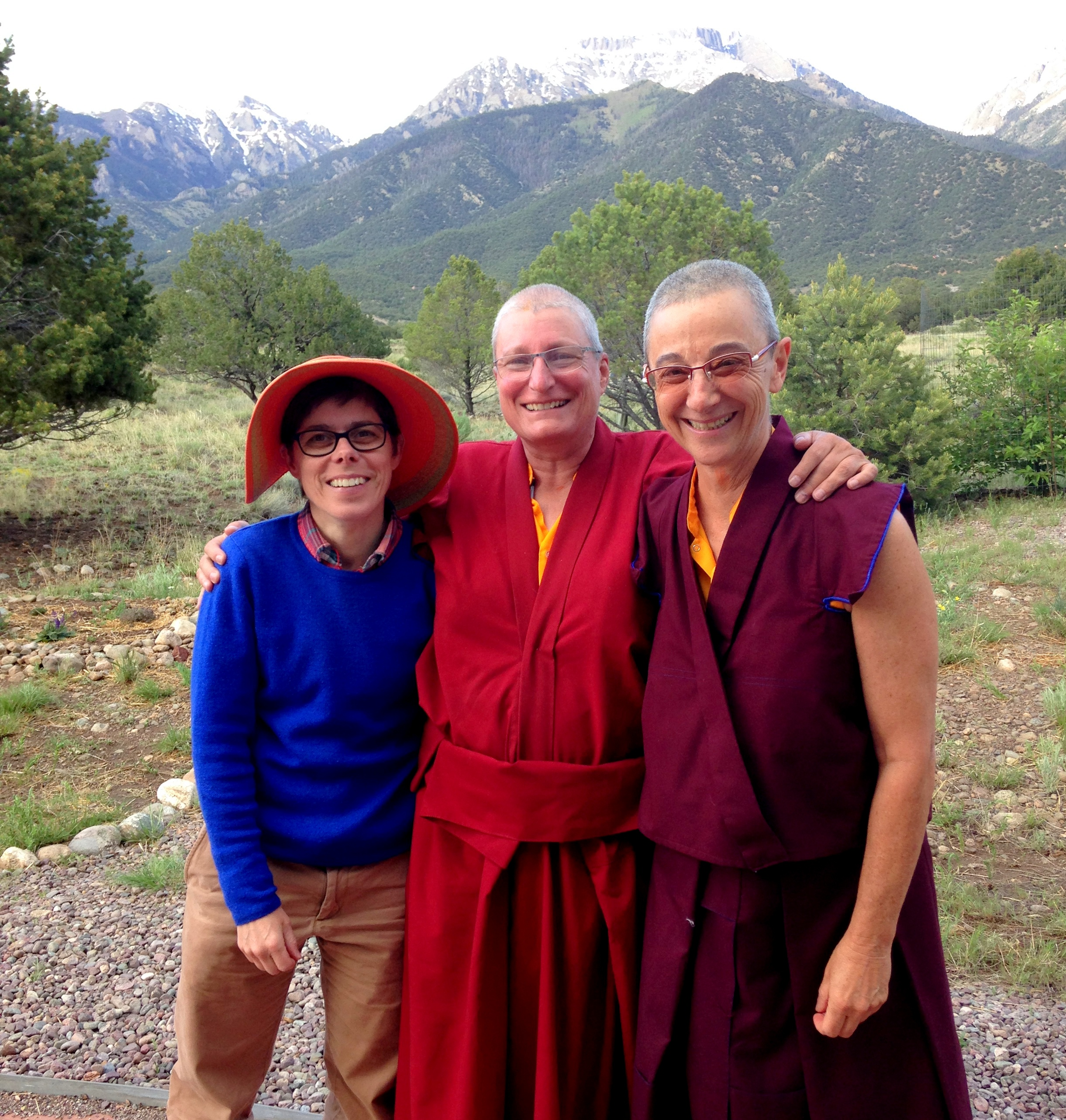 PC Genl -- Thubten and Two Friends.JPG
